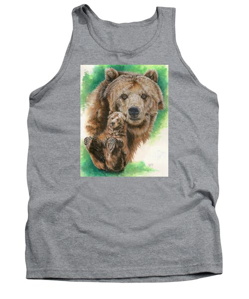 Tank Top featuring the painting Brawny by Barbara Keith