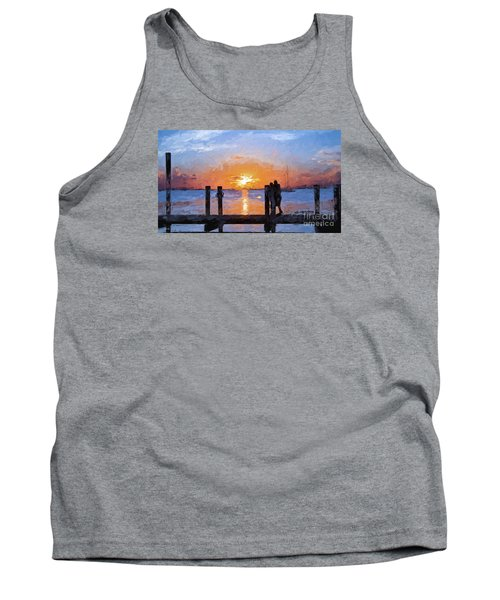Tank Top featuring the painting Break On Through  by Judy Kay