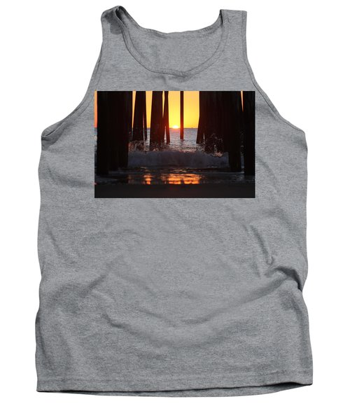 Breaking Dawn At The Pier Tank Top