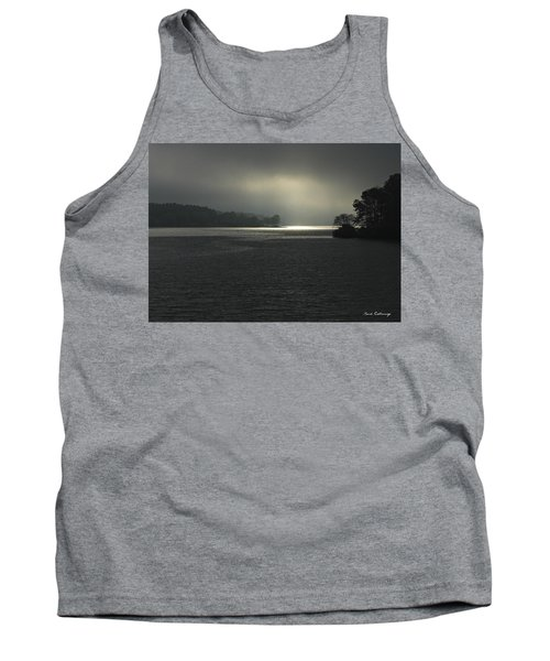 Breaking Out Sunrise Lake Oconee Georgia Tank Top
