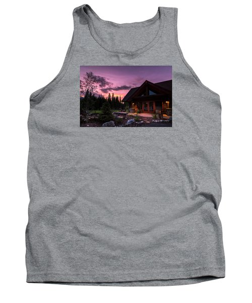 Breck Nordic Lodge Sunset Tank Top