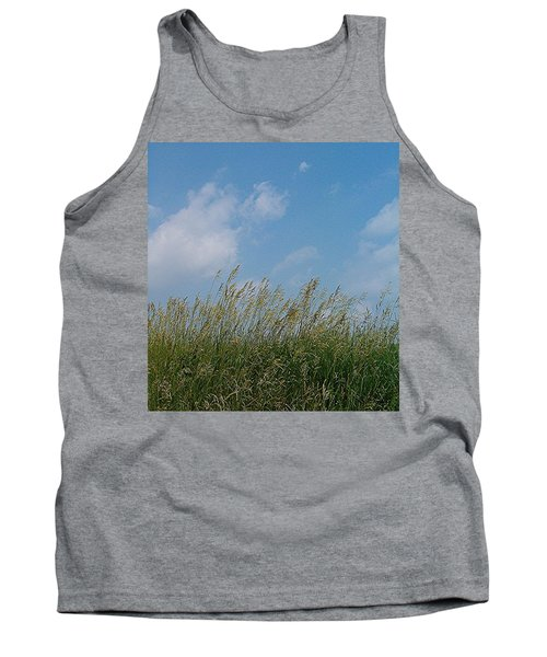 Tank Top featuring the photograph Breezy Day by Sara  Raber