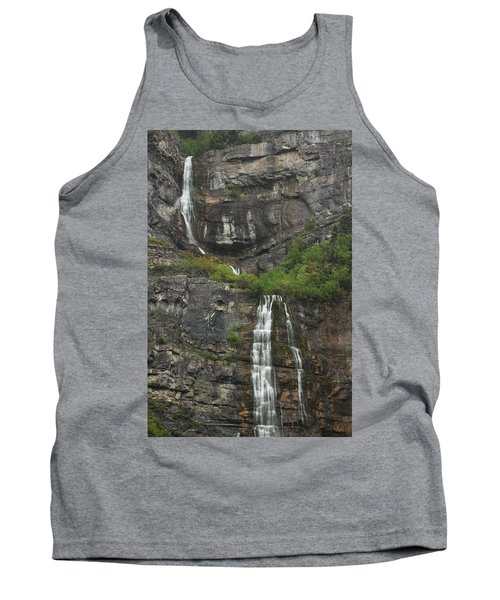 Bridal Veil Falls Provo Canyon Utah Fine Art Photograph Tank Top