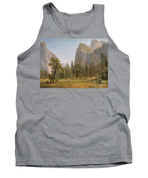 Bridal Veil Falls Yosemite Valley California Tank Top