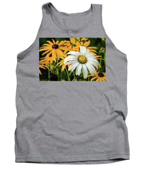Tank Top featuring the photograph Bride And Bridesmaids by Bill Pevlor