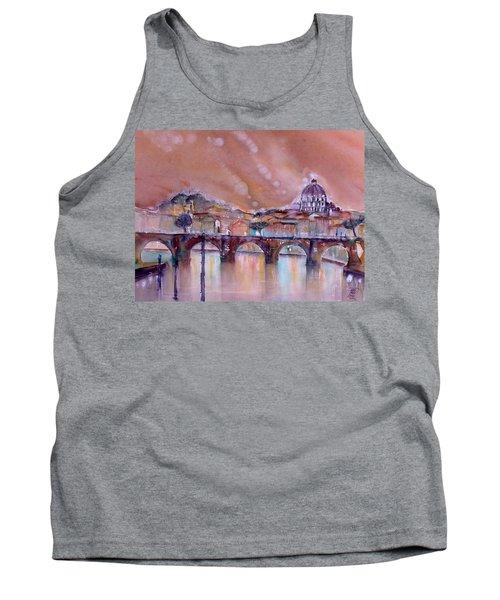 Bridge Of Angels - Rome - Italy Tank Top