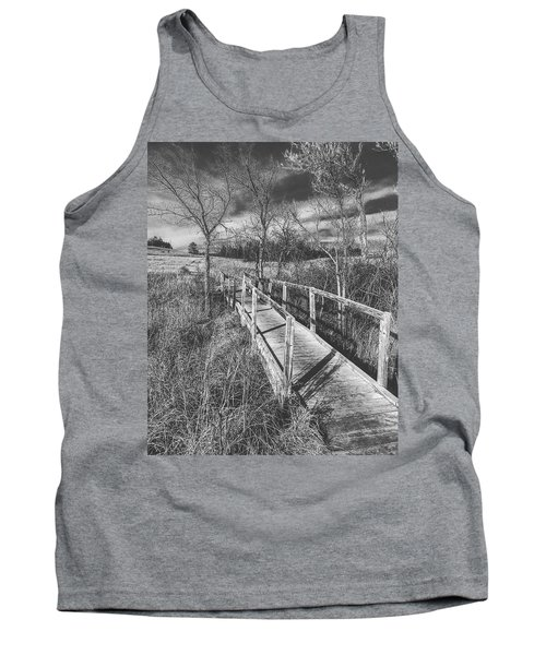 Bridge On The Prairie Tank Top