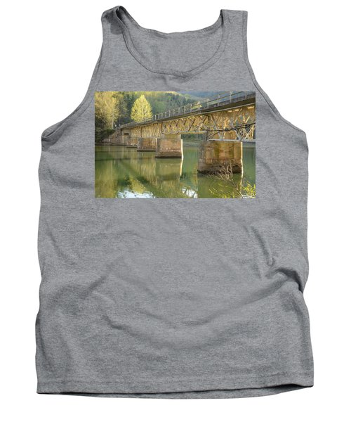 Bridge Over Calm Water Tank Top