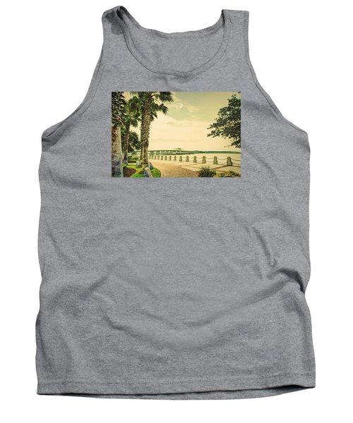 Bridge To Ladys Island Tank Top