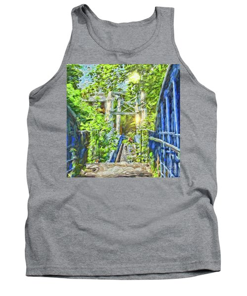 Tank Top featuring the photograph Bridge To Your Dreams by LemonArt Photography
