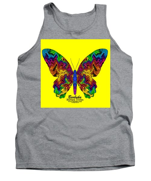 Tank Top featuring the digital art Bright Transformation by Barbara Tristan