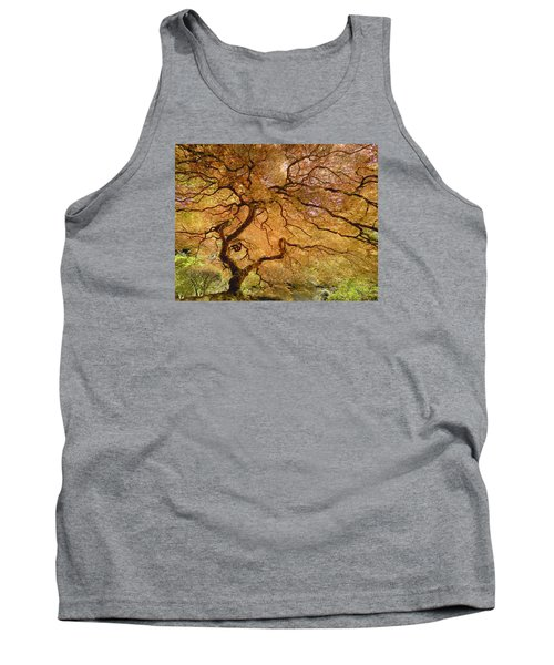 Tank Top featuring the photograph Brilliant Japanese Maple by Wanda Krack