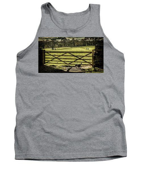 Tank Top featuring the photograph Bringing It Back by Nick Bywater