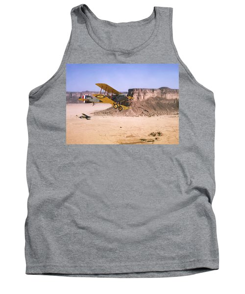 Tank Top featuring the photograph Bristol Fighter - Aden Protectorate  by Pat Speirs