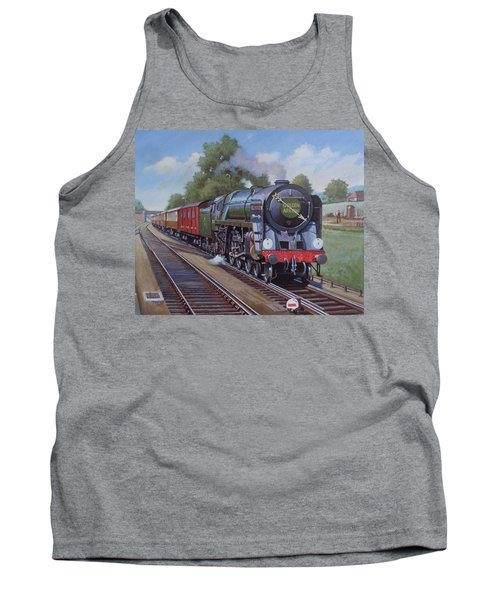 Britannia Pacific On The Golden Arrow. Tank Top by Mike  Jeffries