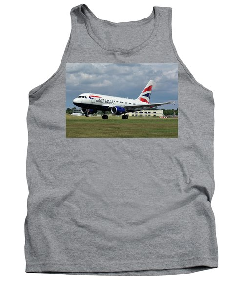 British Airways A318-112 G-eunb Tank Top