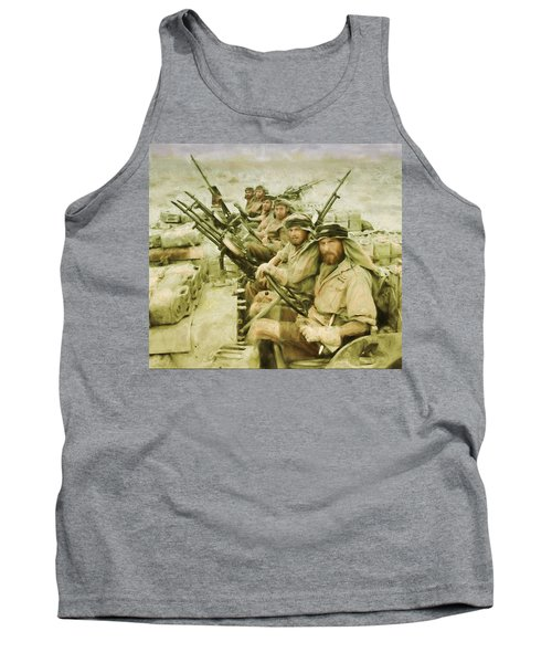 British Sas Tank Top by Michael Cleere