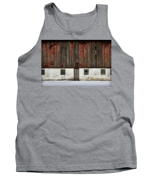 Tank Top featuring the photograph Broad Side Of A Barn by Julie Hamilton