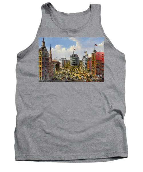 Broadway New York City 1875 Tank Top