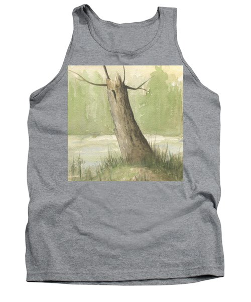 Broken Tree Tank Top