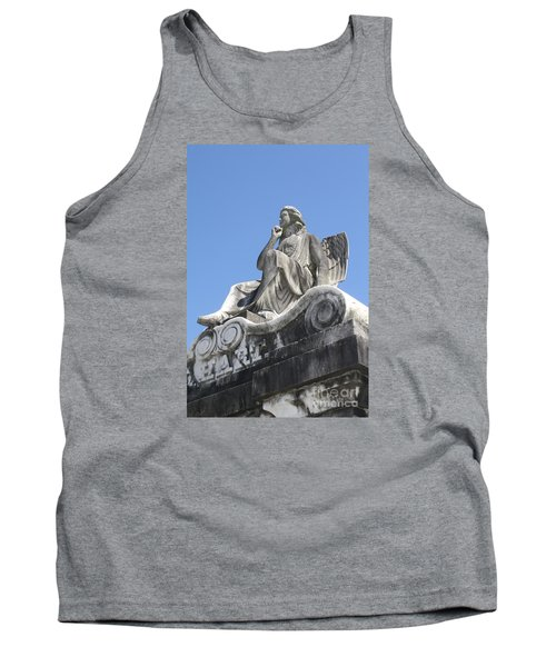 Broken Wing Tank Top by Tbone Oliver