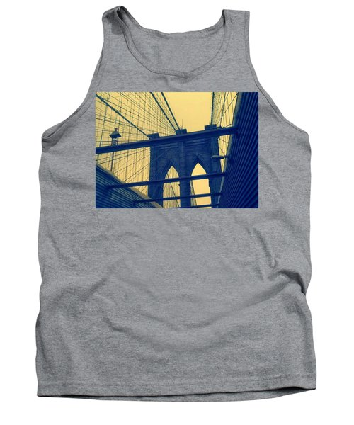 New York City's Famous Brooklyn Bridge Tank Top