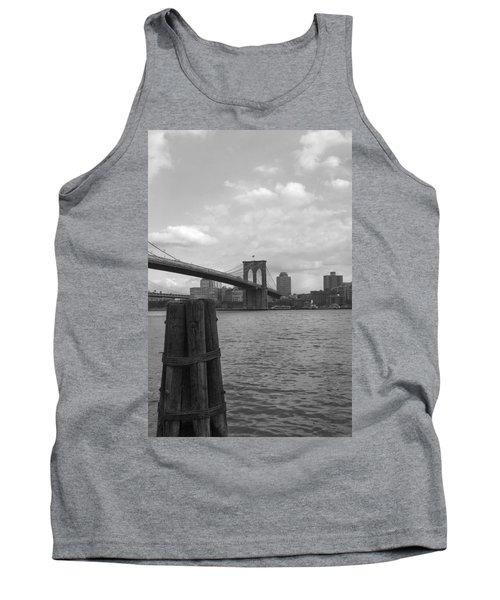 Brooklyn Bridge  Tank Top by Henri Irizarri