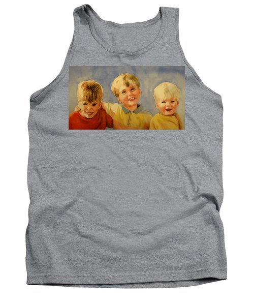 Brothers Tank Top by Marilyn Jacobson