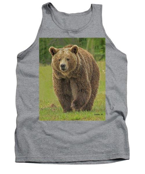 Brown Bear 1 Tank Top