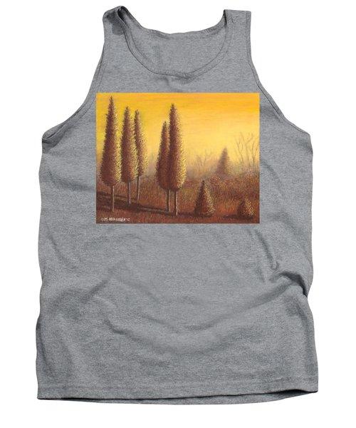 Brown Trees 01 Tank Top