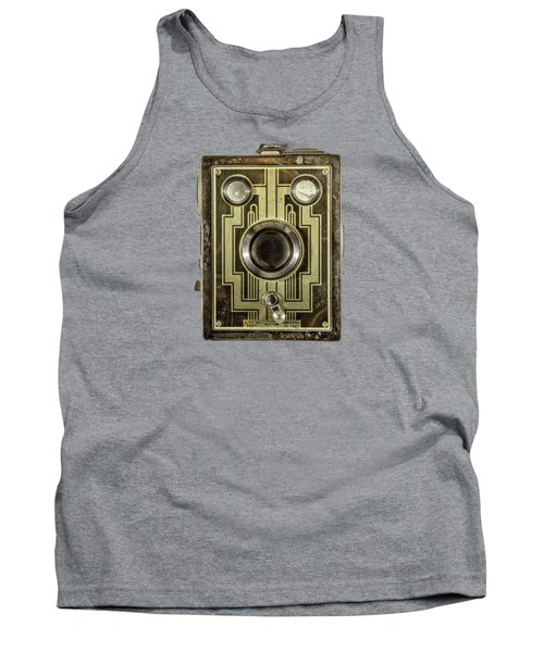 Brownie Six-20 Front Tank Top by YoPedro