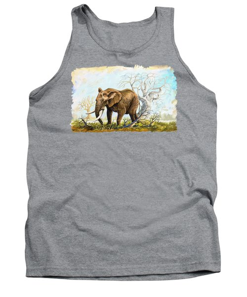 Browsing In The Bushes Tank Top