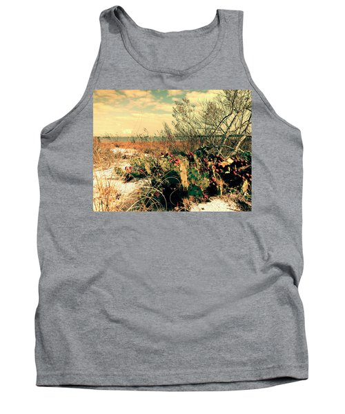 Brush Work Tank Top