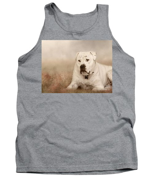 Brutus Dreaming Tank Top by Elaine Teague