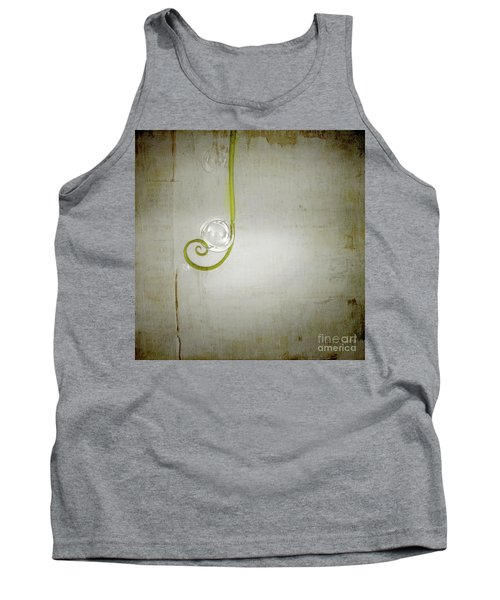 Tank Top featuring the digital art Bubbling - 02tt04a by Variance Collections