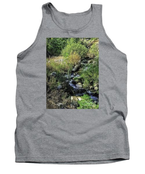 Bubbling Brook Tank Top by Nancy Marie Ricketts