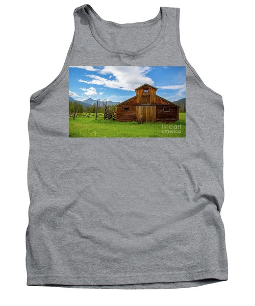 Buckaroo Barn Tank Top by John Roberts
