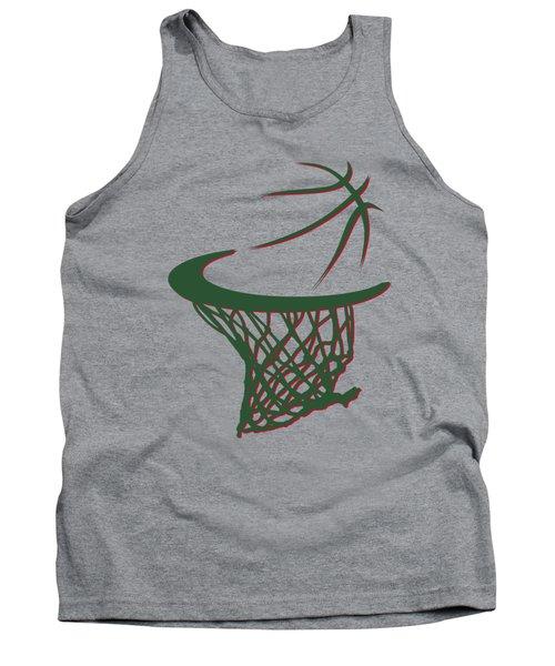Bucks Basketball Hoop Tank Top