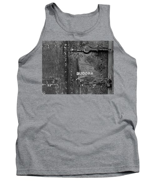 Tank Top featuring the photograph Buddha by Laurie Stewart
