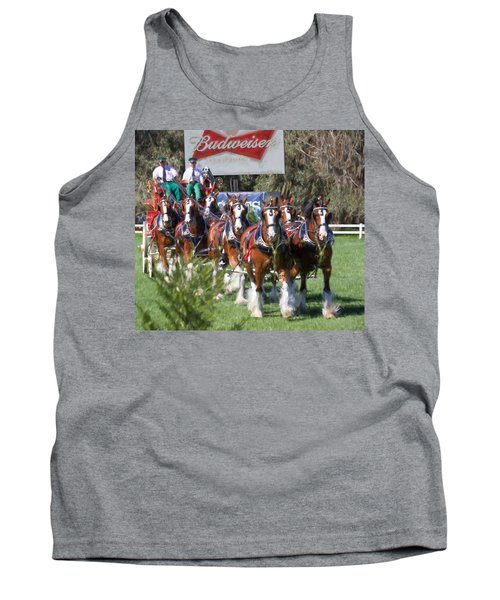 Budweiser Clydesdales Perfection Tank Top