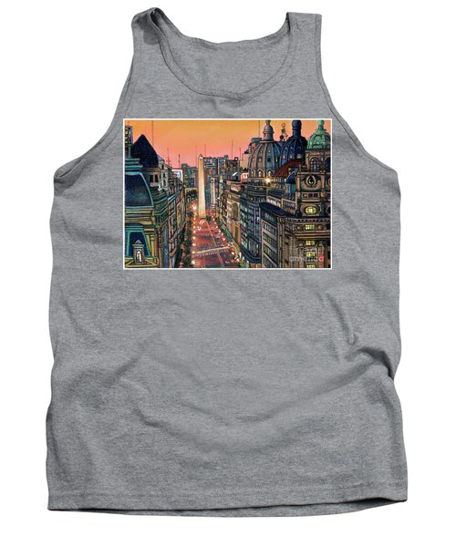 Buenos Aires Twilight Tank Top