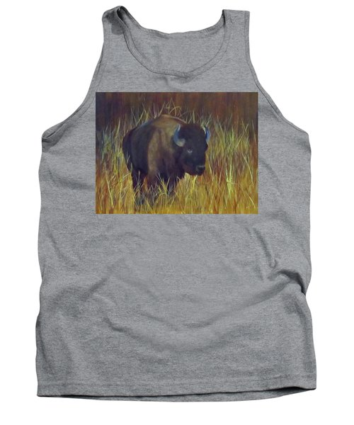 Buffalo Grazing Tank Top by Roseann Gilmore