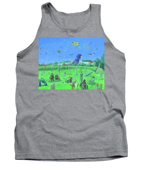 Bug Light Kite Festival Tank Top