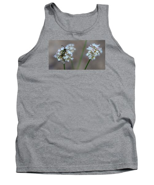 Bug On Flower Tank Top