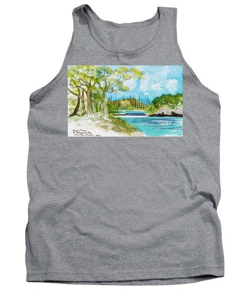 Bugny Trees At Kanumera Bay, Ile Des Pins Tank Top