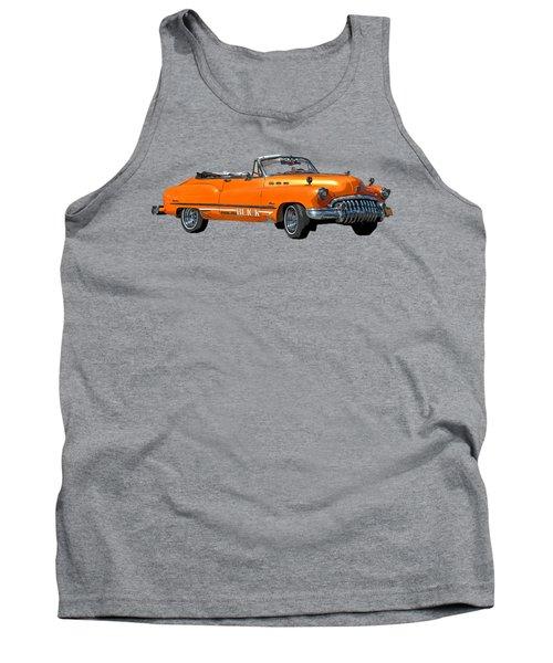 Buick Art In Orange Tank Top