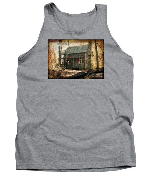 Build Your Life On His Word Tank Top