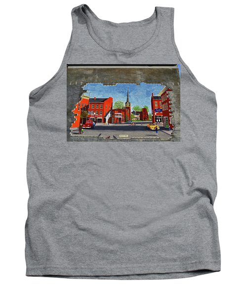 Building Mural - Cuba New York 001 Tank Top