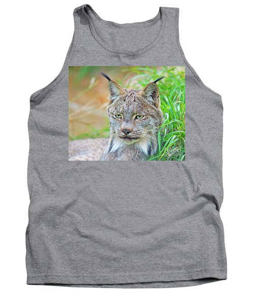 Tank Top featuring the photograph Built In Hearing Aid.. by Nina Stavlund