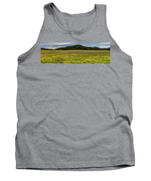 Tank Top featuring the photograph Bull Prairie by Leland D Howard